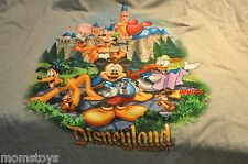 DISNEYLAND 3X T SHIRT WITH MICKEY, DONALD, PLUTO, GOOFY Chip & Dale AND BALLOONS