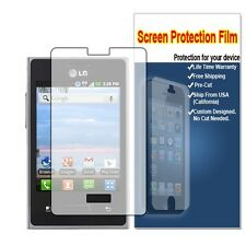 8x Clear LCD Screen Protector Guard Cover Film for LG Optimus logic L35G NET10
