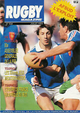 RUGBY No 934 Jul 1993 OFFICIAL MAGAZINE OF THE FFR - FRANCE