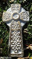 Celtic cross plastic mold religious concrete plaster mould