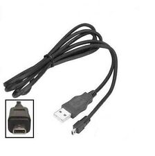OLYMPUS VG-120 / VG-130 / VG-140 DIGITAL CAMERA USB CABLE / BATTERY CHARGER