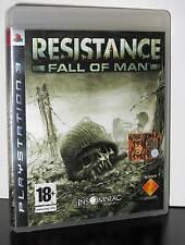 RESISTANCE FALL OF MAN GIOCO USATO OTTIMO STATO SONY PS3 EDIZIONE ITALIANA 29737