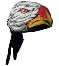 EAGLE HEAD BIKER HEAD WRAP  CAP