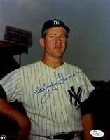 Whitey Ford Yankees Signed Jsa Certed 8x10 Photo Authentic Autograph