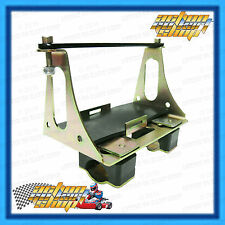 GO KART BATTERY CRADLE HOLDER ASSEMBLY CHASSIS MOUNTED BRACKET ROTAX MAX125 TaG