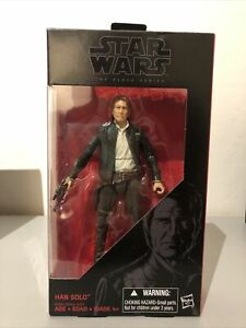 "HAN SOLO The Black Series FORCE AWAKENS Star Wars 2017 6"" Action Figure"