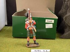 King & Country Napoleonic Wars NA49 Black Watch Highlander Ready #1 (S4L 11)