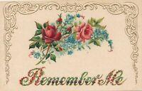 Remember Me Greetings Postcard