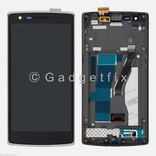 USA OEM Oneplus One 1+ A0001 LCD Screen Display + Touch Screen Digitizer + Frame