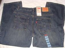 NWT BOYS 550 LEVIS RELAXED FIT SIZE 14 HUSKY~33 W 28 L~RED TAB~FREE US SHIPPING