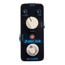 Mooer Blues Crab Classic Blues Overdrive Micro Guitar Effect Pedal True Bypass