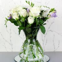 Personalised Engraved I'd Pick You Bouquet Flowers Vase Mum Grandma Nan Mummy