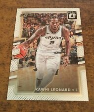 2017-18 Donruss Optic Kawhi Leonard Base Card #143 Spurs Raptors Clippers MVP