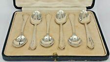1943 word war II period boxed set of silver tea spoons Perrys Regent st London