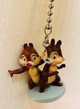 "Disney Mickey Mouse Chip and Dale Mini 1.5"" FanLamp Light Pull Custom PVC Figure"