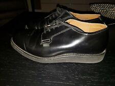 Red Wing Black 101 Postman Heritage Oxford Shoes Size 8.5 Vintage