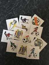 12 Assorted FOOTBALL Tattoos Childrens  Boys Party Loot Bag Fillers / Favours