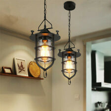 Vintage Pendant Light Kitchen Lamp Black Pendant Lighting Bedroom Ceiling Light