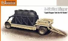 Special Armour - A-Stoffanhänger V-2 V2 Transporter Transportwagen 1:72 Bausatz