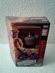 Transformers Generations War for Cybertron Kingdom Deluxe Predacon Scorponok
