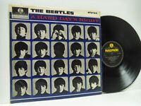 THE BEATLES a hard day's night (1st uk stereo press) LP EX-/VG, PCS 3058, vinyl,