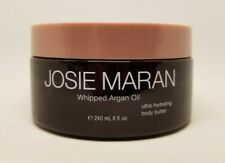 JOSIE MARAN WHIPPED ARGAN OIL HYDRATING BODY BUTTER LILAC 8 OZ NEW! UNSEALED!