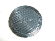 SIGMA 62mm front lens cap , All black ,  Japan