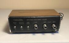 Vintage Realistic Solid State Stereo Amplifier Sa-10 31-1982B Sim Walnut Grain