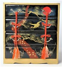 Japanese Hina Doll Antiques Chest of drawers Gold Lacquer Miniature Furniture