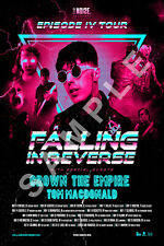 FALLING IN REVERSE 12x18 EPISODE IV TOUR CONCERT POSTER BAND RONNIE RADKE 5