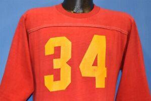 vtg 70s IOWA STATE CYCLONES JERSEY #34 UNIVERSITY 3/4 SLV NCAA t-shirt COLLEGE L