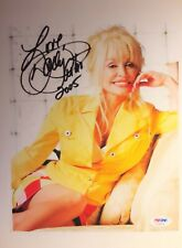 Jeni'S Ice Cream Dolly Parton signed 5x7 Picture/ Postcard Usa Ship Only