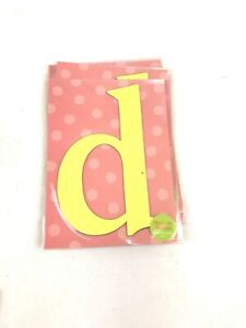"""Lowercase d Monogram Magnet Letter 5"""" craft supply craft supply educational"""