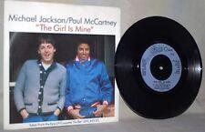 "The Beatles-Paul McCartney & Michael Jackson-45 RPM-7""-Epic-""The Girl is Mine"""