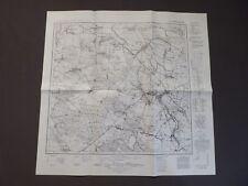 Landkarte Meßtischblatt 5371 Falkenberg, Niemodlin, Schlesien, Oppeln, 1939