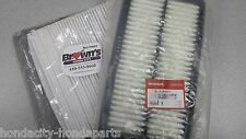 NEW GENUINE HONDA PILOT RIDGELINE ENGINE AIR / CABIN AIR FILTER SET 2016 2017