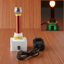 DC 12V Mini DIY Tesla Coil Kit Arc Wireless Electric Power Transmission Lighting