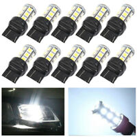 10X 6000K White 3157 3156 5050 24 SMD LED Turn Signal Stop Light Bulbs 3057 4157
