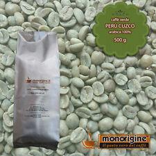 Caffè Verde in Grani Perù Cuzco 500 gr - Caffè Arabica 100%