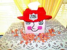 FIRE MAN TISSUE BOX