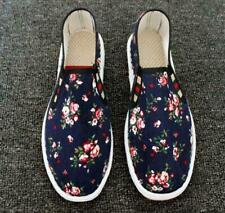 Mens Floral Pumps Moccasins Slip On Loafers Casual Outdoor Driving Walking Shoes