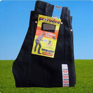 Wrangler Cowboy Cut The Original Pro Rodeo schwarz, Wrangler Western Jeans black