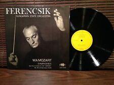 MOZART Symphonies 41, 39. FERENCSIK QUALITON Stereo LPX 11390