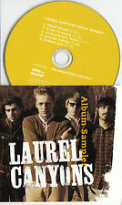 LAUREL CANYONS Album Sampler UK 5-trk promo test CD for unreleased album