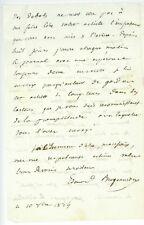 Edouard BERGOUNIOUX (1806-1872) Französischer Schriftsteller 1834 Autograph