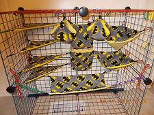 BATMAN GRAY  Sugar Glider 11 pc cage set