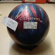 = 15# 4oz Former Display w/o Original Box Brunswick C System 2.5 Bowling Ball