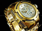 Invicta Reserve BOLT ZEUS 18K Gold IP MOP Swiss Movement Chrono Diver SS Watch