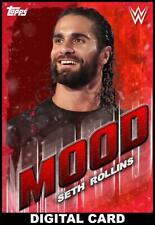 Topps SLAM WWE Seth Rollins RED MOOD 2020 [DIGITAL CARD] 50cc