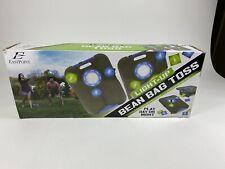 EastPoint Sports Light-Up 8 Bean Bag Toss Set 23.5x18 Corn Hole Game